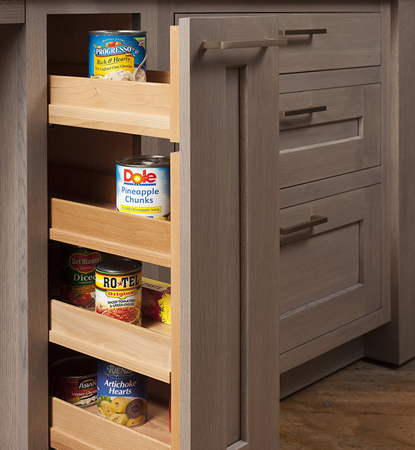 Pullout Canned Storage