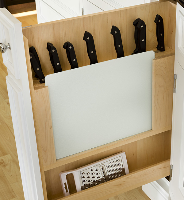 Knife Block Pull Out Column