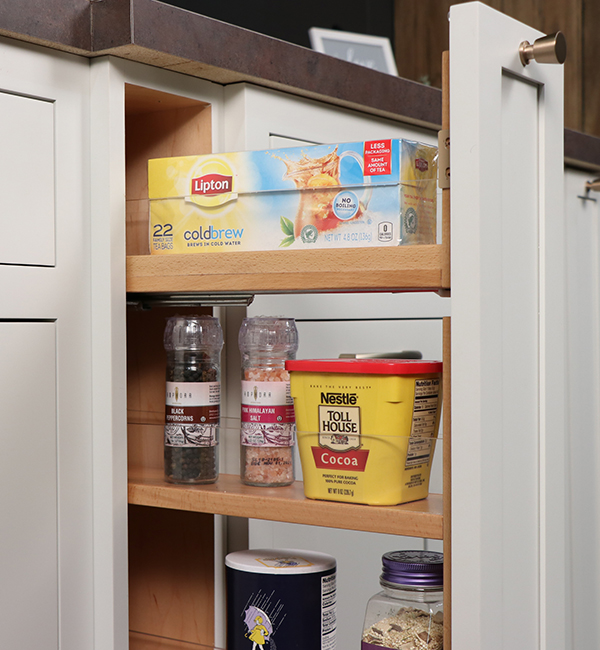 Spice Rack Pull Out Column