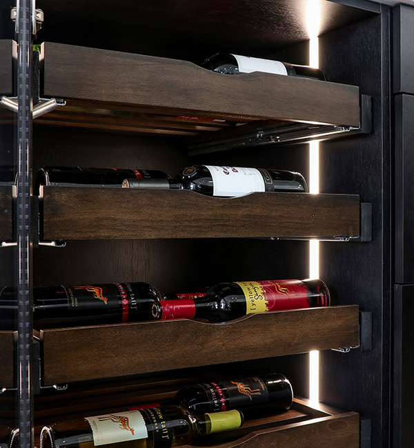 Wine Pull Out Shelves